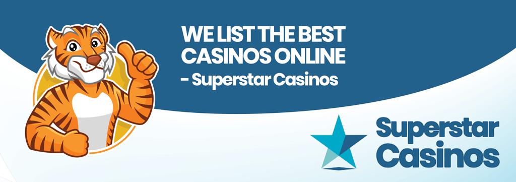 we list the best casinos online